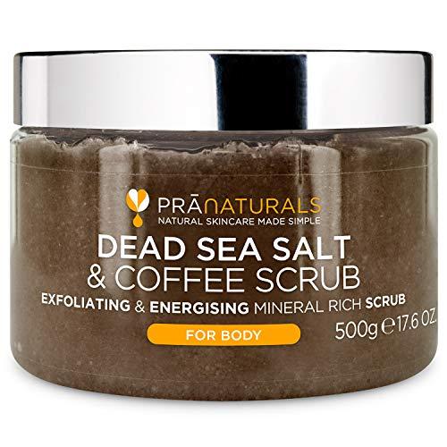 PraNaturals Körperpeeling mit Salz aus dem Toten Meer &...