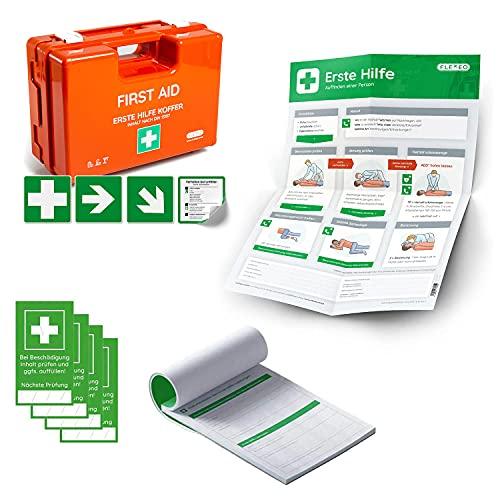 Erste-Hilfe-Koffer für Betriebe mit Inhalt nach DIN 13157...