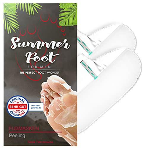SUMMER FOOT For Men Premium Fußmaske zur Entfernung von...
