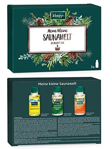 Kneipp Sauna Geschenkpackung- Meine kleine Saunawelt, 2er Pack (3 x 20ml pro Pack)