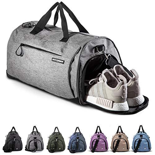 Fitgriff® Sporttasche Reisetasche mit Schuhfach & Nassfach - Männer & Frauen Fitnesstasche - Tasche für Sport, Fitness, Gym - Travel Bag & Duffel Bag 58cm x 31cm x 31cm [50...