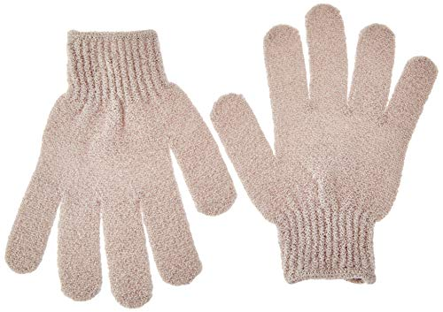QVS - Peeling-Handschuhe, Braun