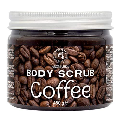 Kaffee Körperpeeling 450g - Natur Kaffee Body Peeling -...