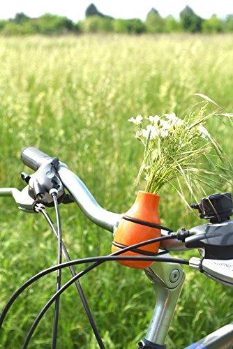 meindekoartikel Lifestyle Fahrradvase Frieda (orange) - Der...