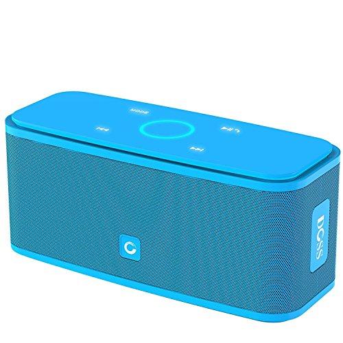 DOSS SoundBox Bluetooth Lautsprecher Kabellose Portabler 12W Touch Lautsprecher mit 12-Stunden Spielzeit &...
