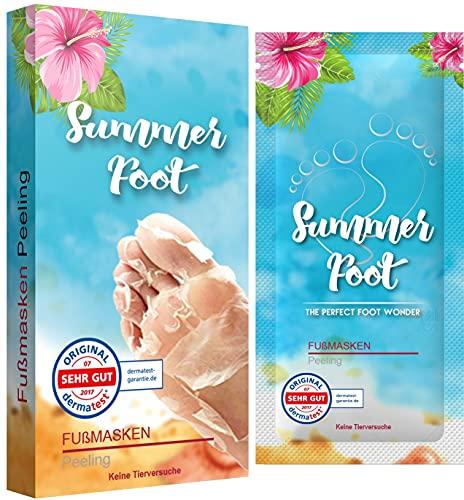 SUMMER FOOT Premium Fußmaske zur Entfernung von Hornhaut I...