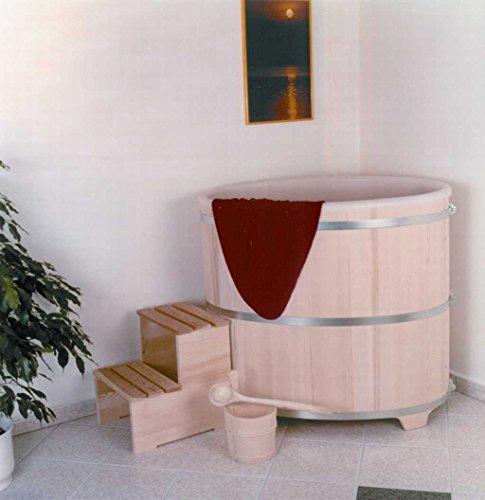 Achleitner Sauna Tauchbecken aus Fichtenholz mit...
