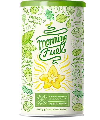 Morning Fuel Vanille Matcha Shake - Morgens Satt & Gesund,...