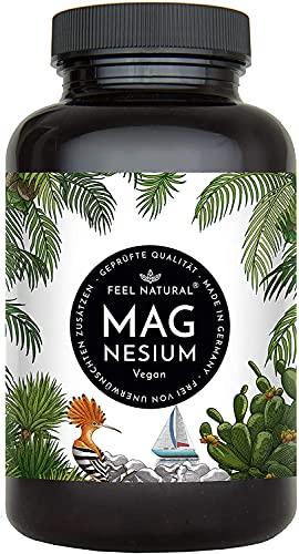 Magnesium Kapseln - 365 Stück (1 Jahr). 664mg je Kapsel,...