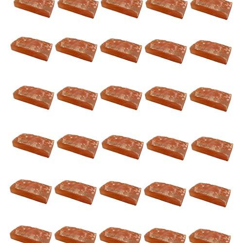 SudoreWell® Salzziegel 20x10x5 cm - eine Seite rau - aus...