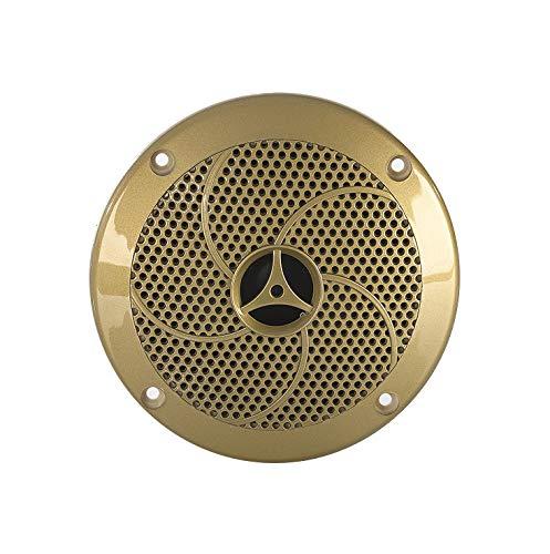 eliga Lautsprecher bis 120° C, goldfarben, Ø 135 mm