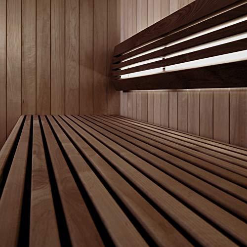 Sauna-Licht Indirekt profiTUBE, bis 125°C, LED Warm-Weiss...