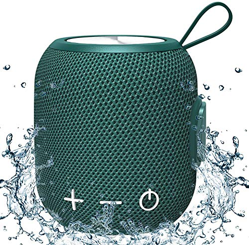 Bluetooth Drahtloser Lautsprecher Tragbarer Wasserdicht,...