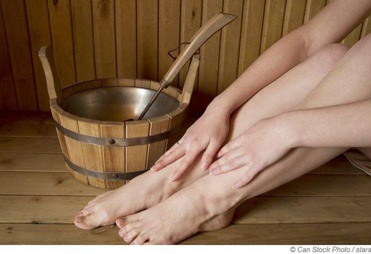 Mit Venenleiden in die Sauna?