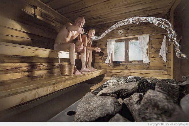 Der Saunaaufguss