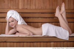 Eine Sauna ist eine wertvolle Gesundheitsoase