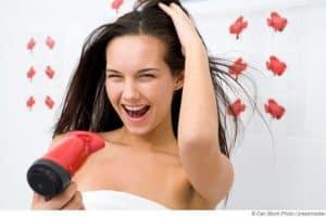 Die richtige Haarpflege nach dem Saunieren