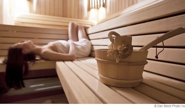 Durchblutungs-Booster Sauna