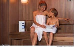 KLAFS Sauna S1 Microsalt SaltProX