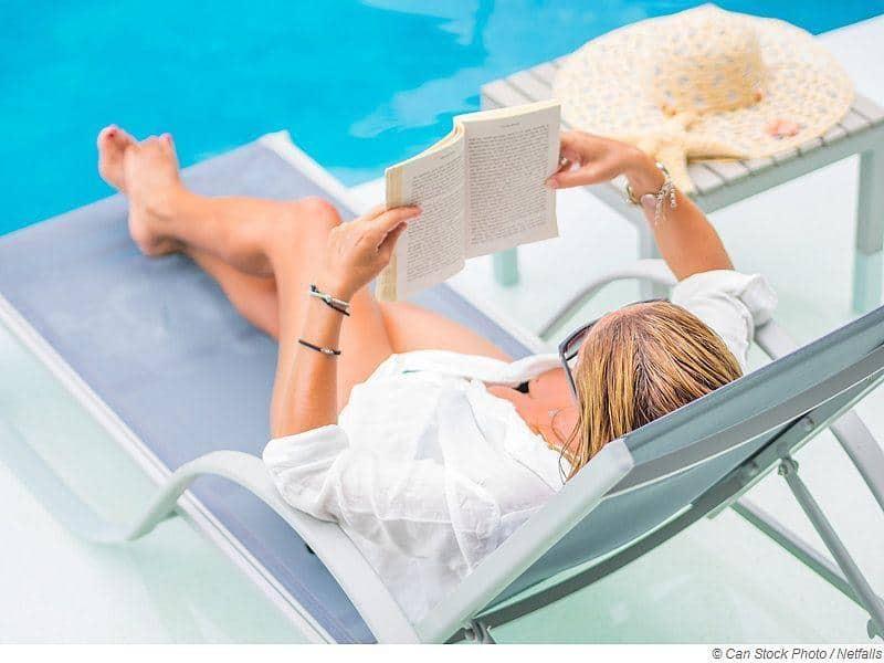 Lesen entspannt und reduziert Stress