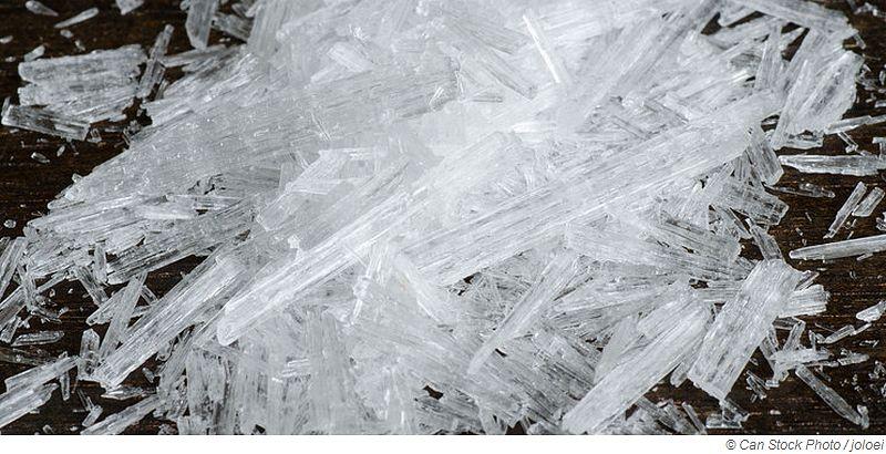 Mentholkristalle für die Sauna