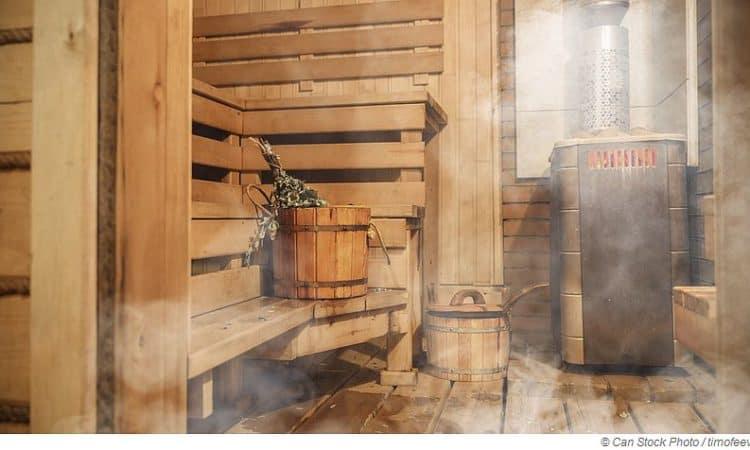 Mit Herzschrittmacher in die Sauna