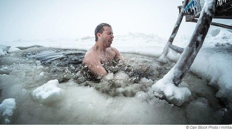Sauna Eisbaden