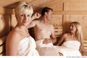 Saunieren im Sommer | Schwitzen hilft bei Hitze