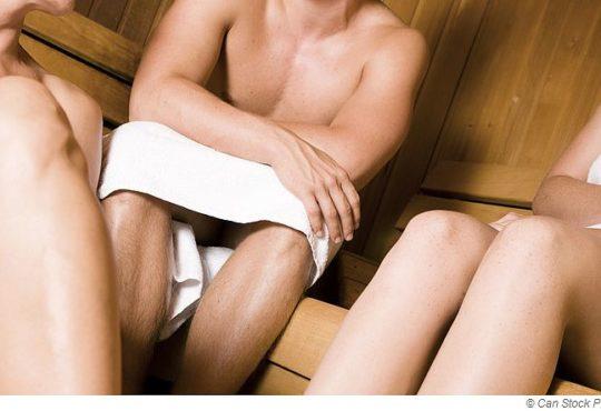 Trotz Inkontinenz in die Sauna