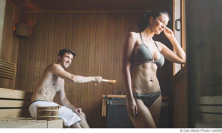 Weltweite Sauna-Sitten