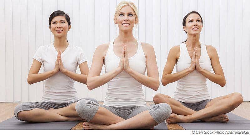 Yoga aktiviert deine Glückshormone